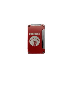 SMoKE Lighter - Single Flame - Red w/ Punch