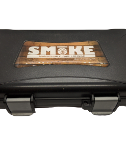 Travel Humidor - 5 Cigar Travel Humidor - Black w/ SMoKE Logo
