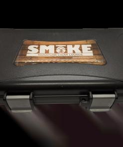 Travel Humidor - 5 Cigar Travel Humidor - Black w/ SMoKE Logo