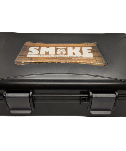 Travel Humidor - 10 Cigar Travel Humidor - Black w/ SMoKE Logo